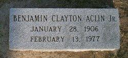 Benjamin Clayton Aclin, Jr