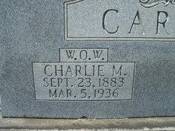 Charlie <i>Morgan</i> Carter