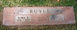 Ella Juanita <i>Saunders</i> Ruyle