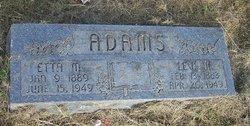Etta M Edie <i>Watkins</i> Adams