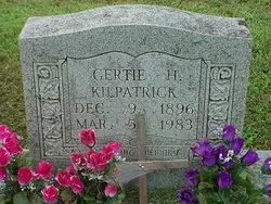 Gertrude Gertie <i>Hilton</i> Kilpatrick