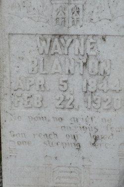 Wayne Thomas Blanton