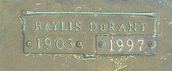 Baylis <i>DuRant</i> Buddin