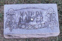 Matilda Tilda <i>Seagraves</i> Harper