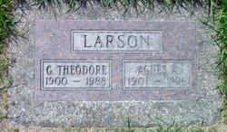 Agnes A <i>Benson</i> Larson
