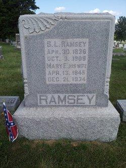 Mary E. <i>McChesney</i> Ramsey