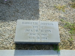 Harriette Amanda <i>Jameson</i> Austin