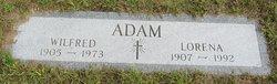 Lorena Elizabeth <i>Young</i> Adam