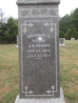 Missouri Catherine Minnie <i>Lovelace</i> Brown