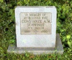 Constanze A M <i>Jaeger</i> Schwindt