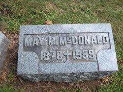 Mary M. May <i>Sullivan</i> McDonald