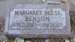 Margaret June <i>Reese</i> Benson