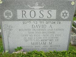 Miriam <i>Kalmikoff</i> Ross