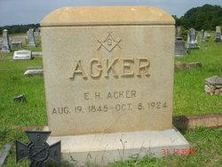 Edwin Holbert Acker, Sr