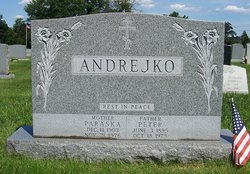 Paraska <i>Ference</i> Andrejko
