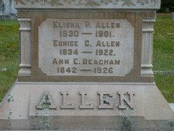 Eunice C. <i>Beacham</i> Allen