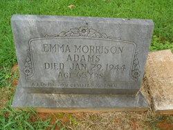 Emma <i>Morrison</i> Adams