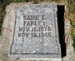 Sadie Edna <i>Cook</i> Farley