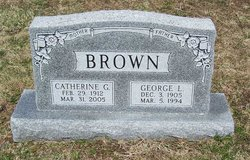 Catherine G <i>Jordan</i> Brown