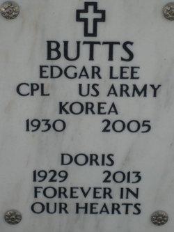 Edgar 'Lee' Butts