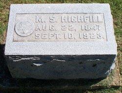Miriah S <i>Mitchell</i> Highfill