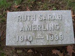 Ruth Sara Amerling