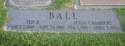 Julia <i>Chambers</i> Ball