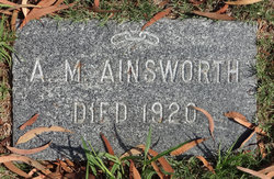 A M Ainsworth