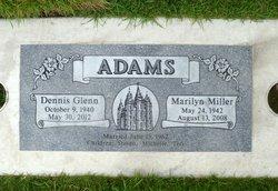 Marilyn <i>Miller</i> Adams