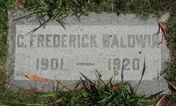 C Frederick Baldwin