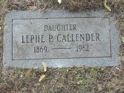 Lephe Callender