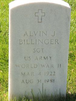 Alvin Joseph Billinger