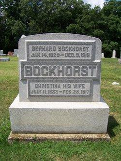 Christina Marie Elizabeth <i>Driemeier</i> Bockhorst