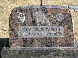 PFC John Capozo, Jr