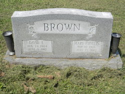 Mary Phyllis <i>Snavely</i> Brown