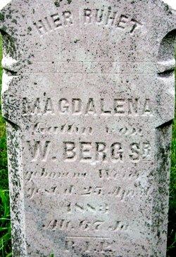 Magdelena <i>Weyer</i> Berg, Sr