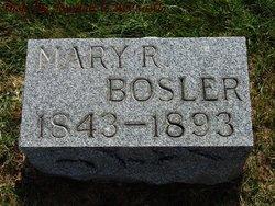 Mary R Bosler