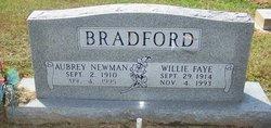 Willie Faye <i>Pool</i> Bradford