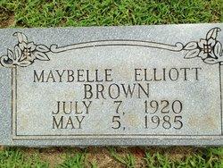 Anna Maybelle <i>Elliott</i> Brown
