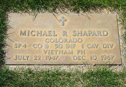 Spec Michael Robert Shap Shapard