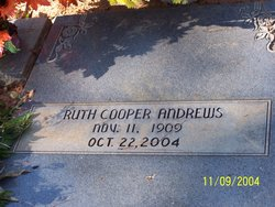 Ruth <i>Cooper</i> Andrews