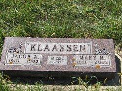 Mary Martha <i>Gosen</i> Klaassen