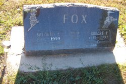 Mildred E. <i>Sampson</i> Fox