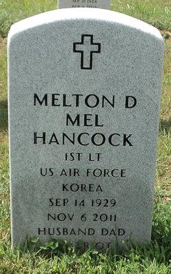 Melton D. Mel Hancock