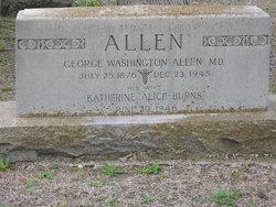 Katherine Alice Katie <i>Burns</i> Allen