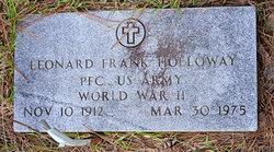 Leonard Frank Holloway