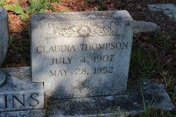 Claudia <i>Thompson</i> Jenkins