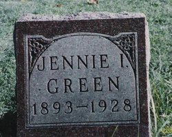 Jennie I <i>Fidler</i> Green