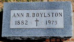 Ann Ruth <i>Eatough</i> Boylston