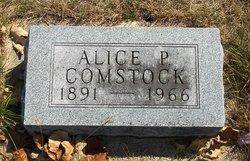 Alice L. <i>Padgham</i> Comstock